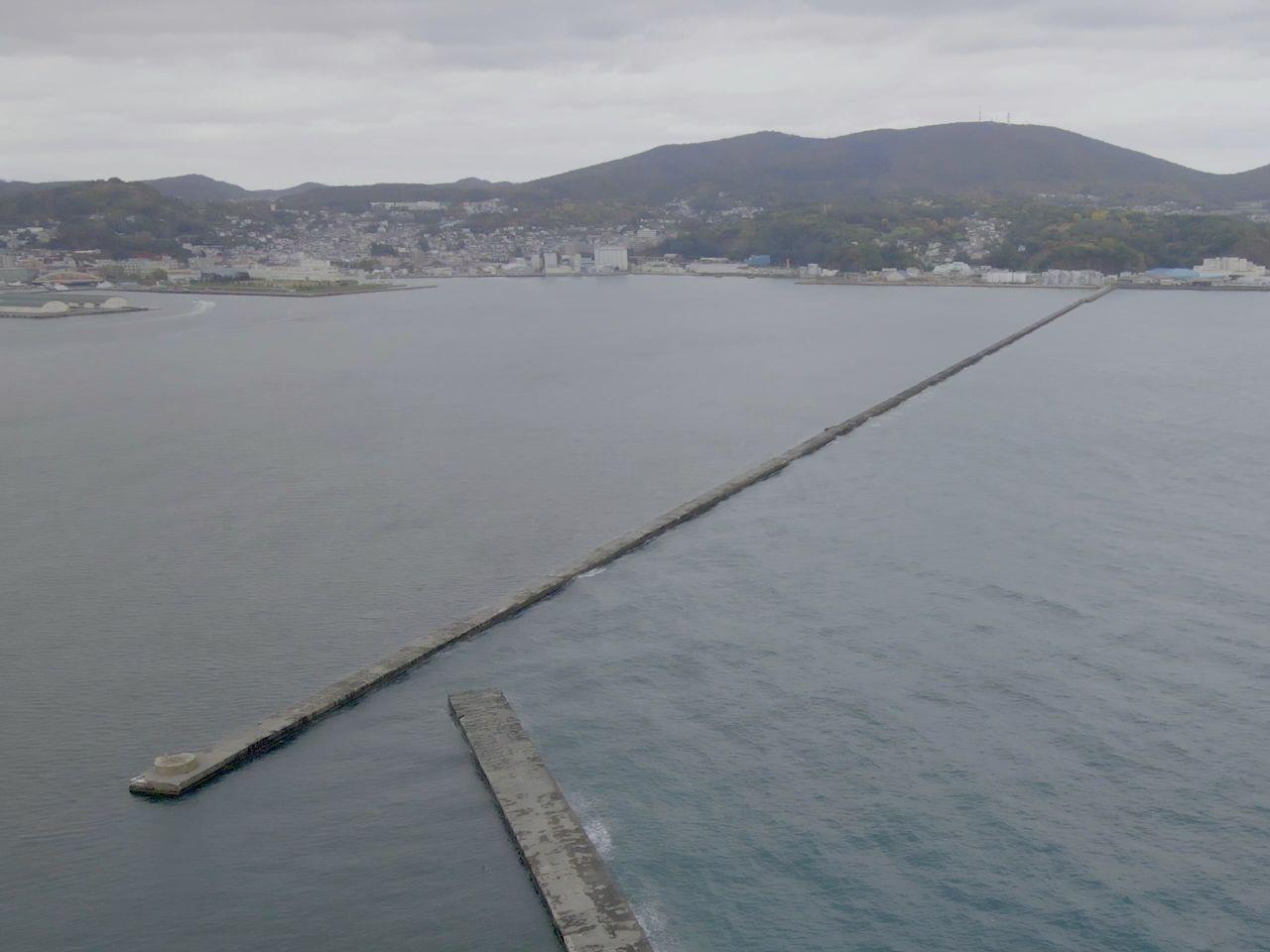 画像:小樽港北防波堤(1)