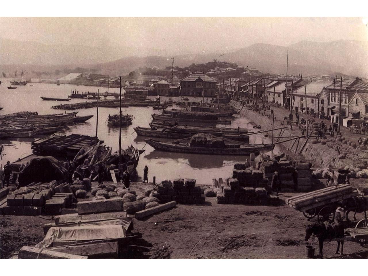 画像:小樽の港湾(2)