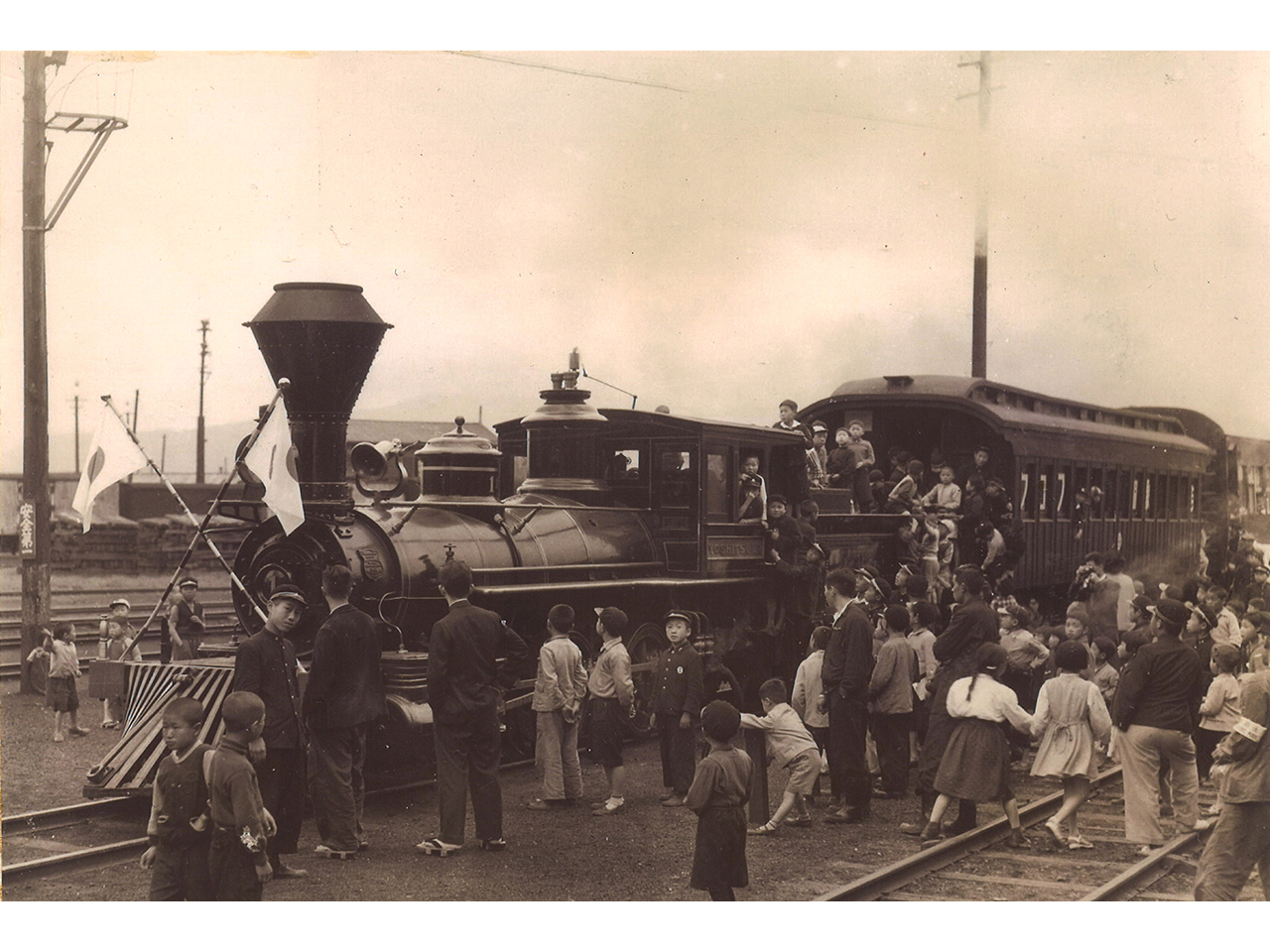 画像:小樽の鉄道(2)