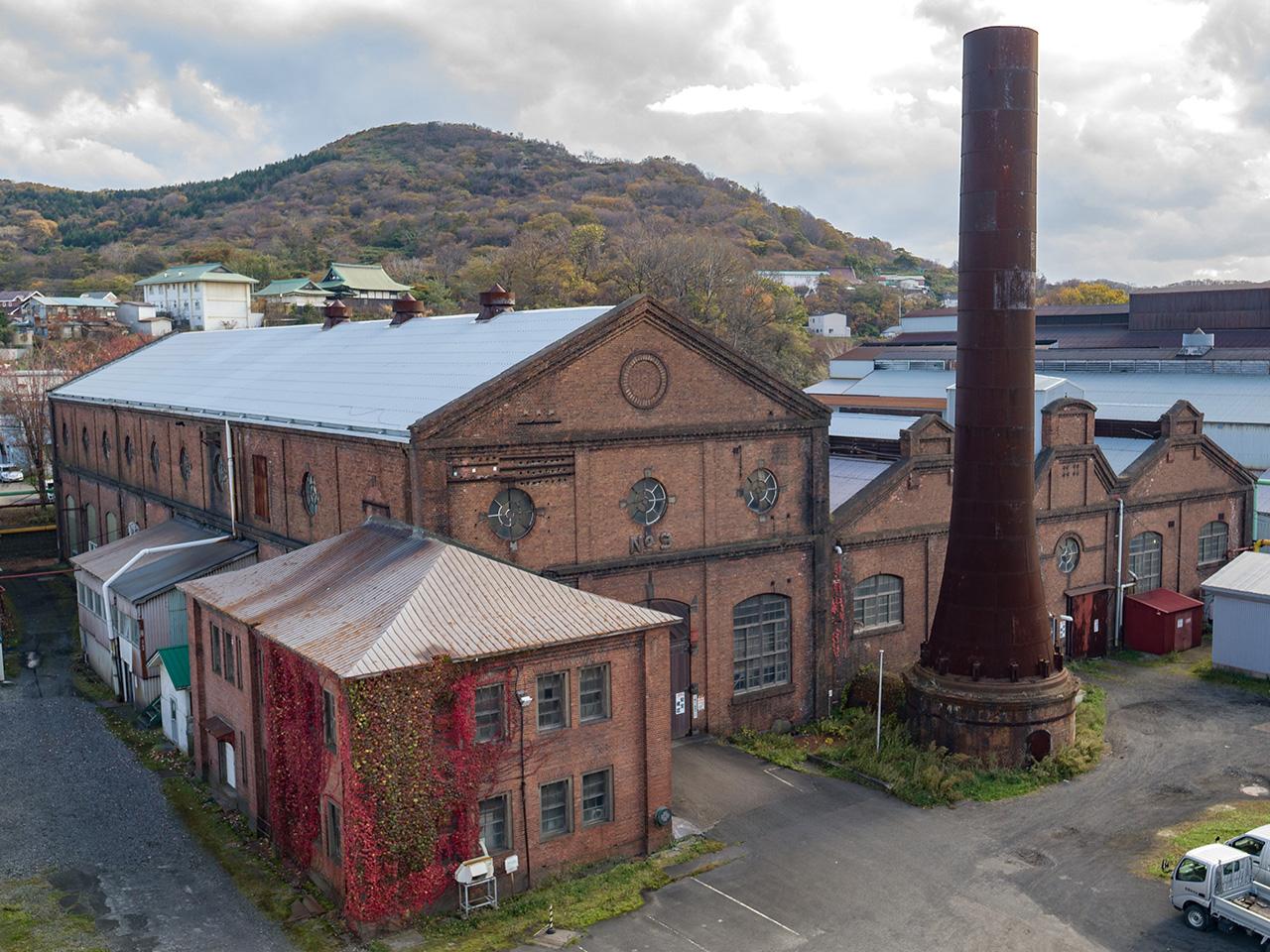 画像:旧火力発電所(日本製鋼所)(2)