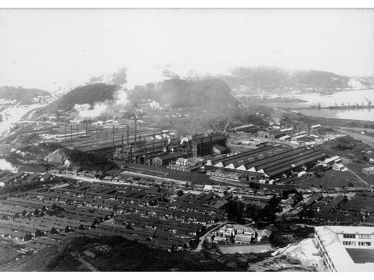 画像:工場景観と企業城下町のまちなみ(6)