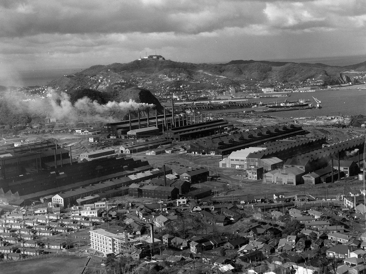 画像:工場景観と企業城下町のまちなみ(9)