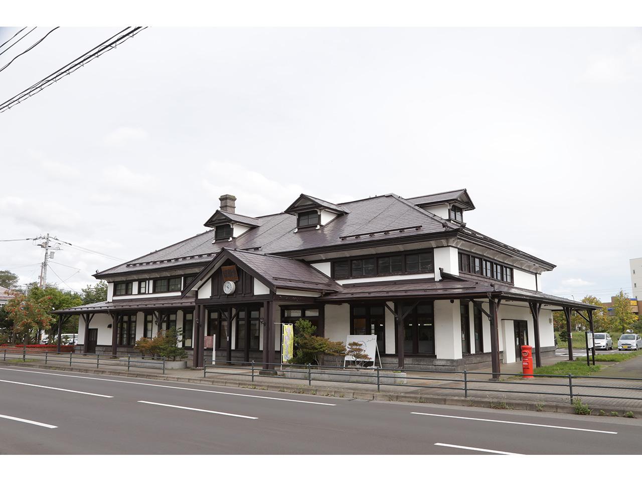 画像:室蘭市旧室蘭駅舎(1)