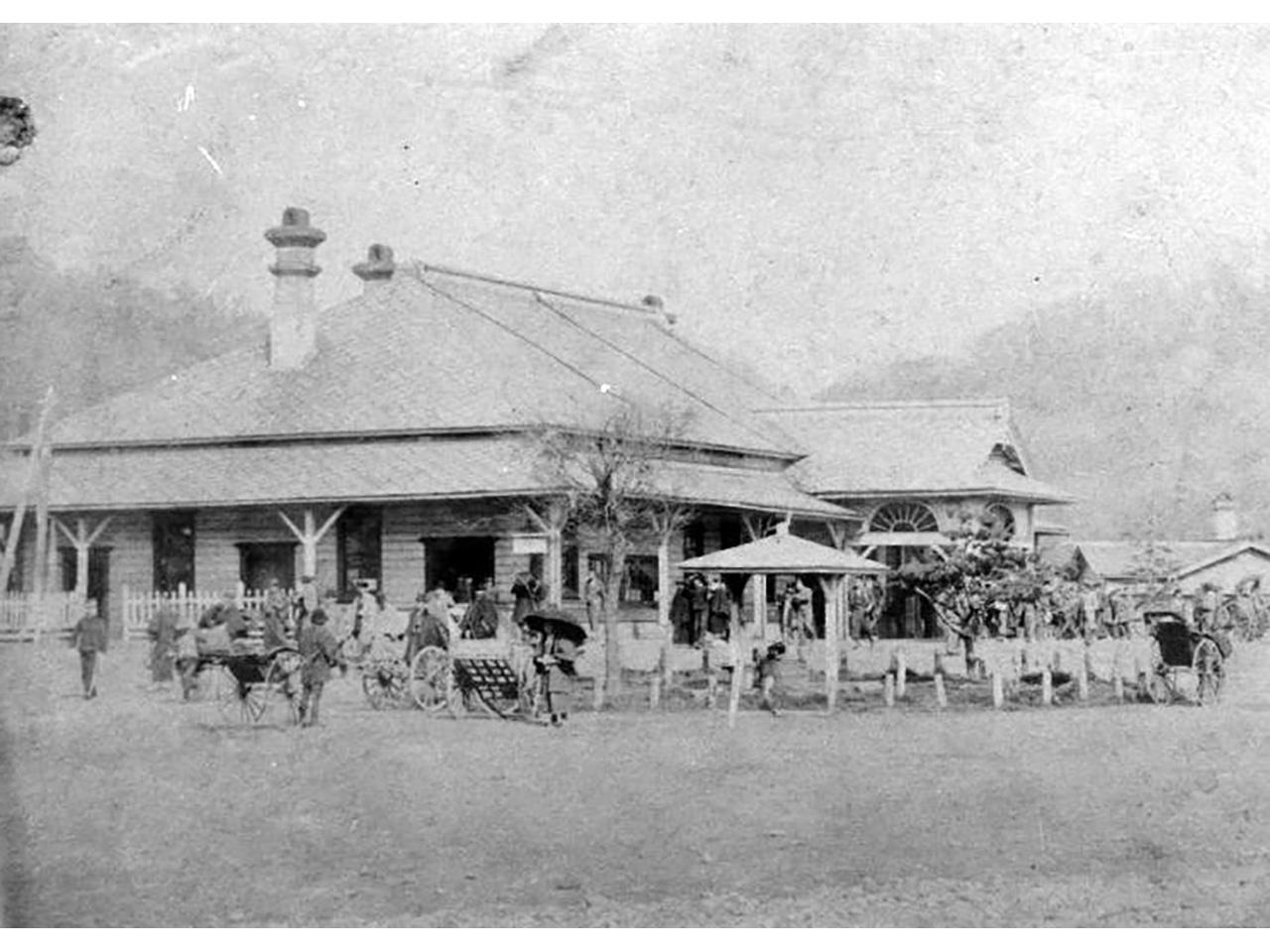 画像:室蘭市旧室蘭駅舎(4)