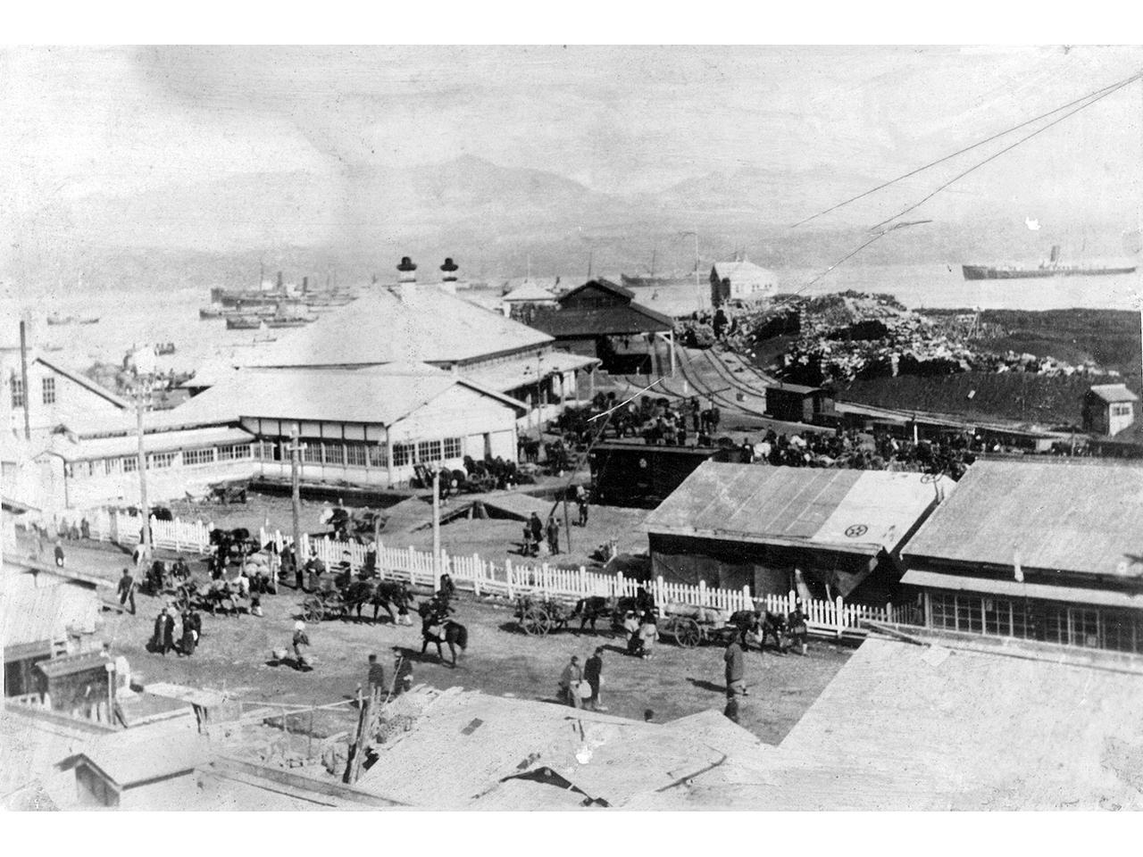 画像:室蘭市旧室蘭駅舎(6)