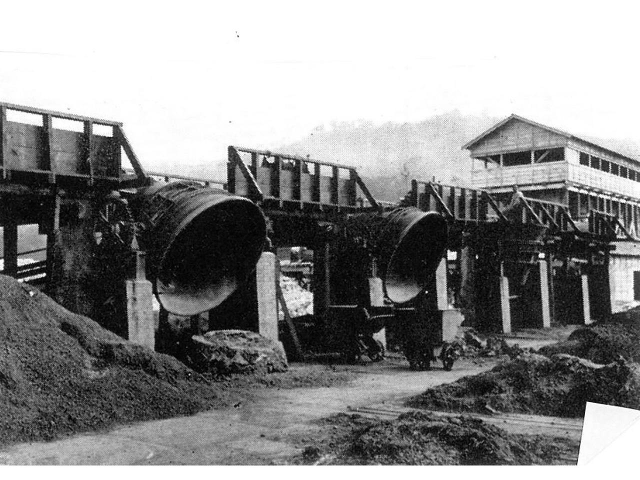 画像:室蘭の製鉄所(1)