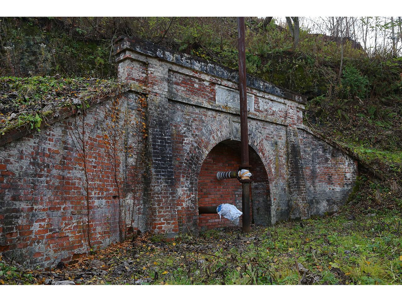 画像:旧北炭夕張炭鉱天龍坑(1)