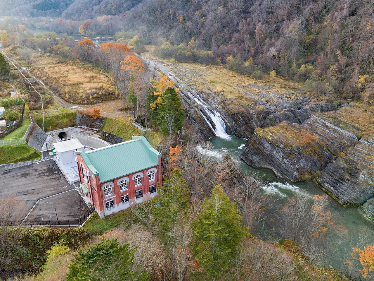 画像:旧北炭滝ノ上水力発電所(3)