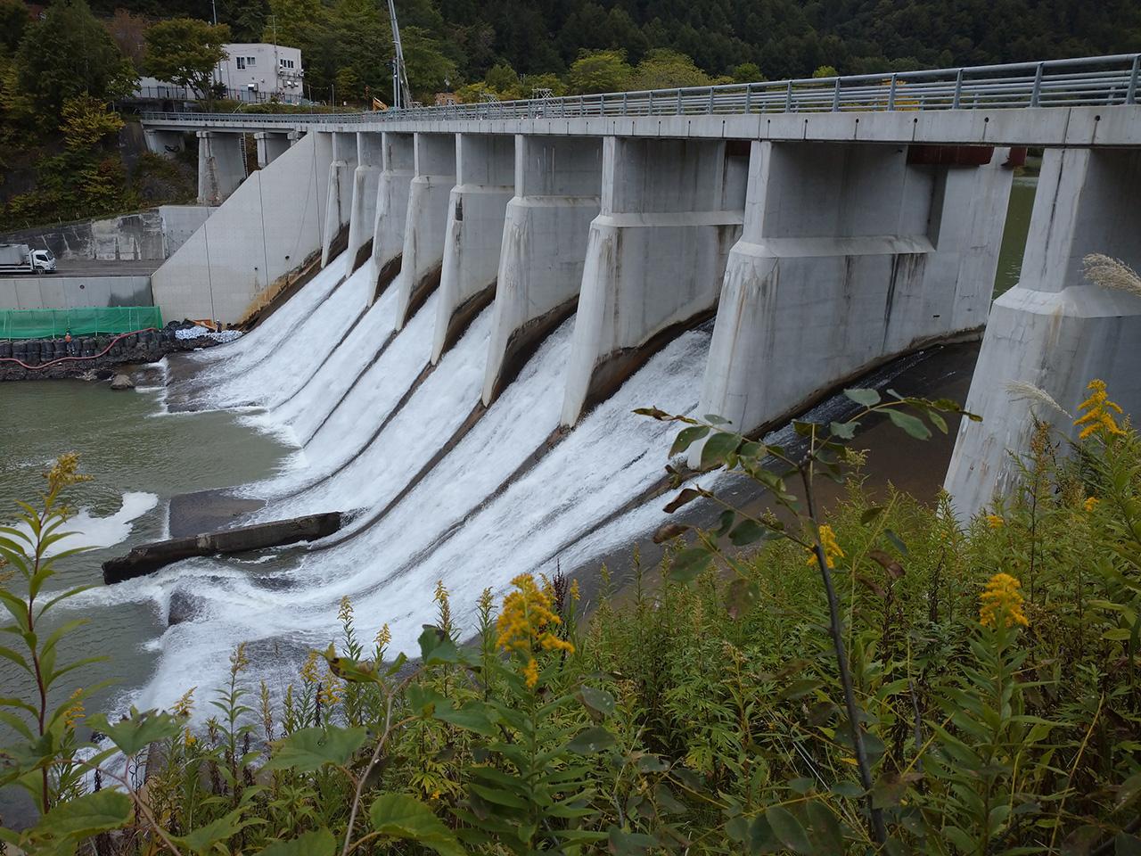 画像:旧北炭清水沢水力発電所(1)