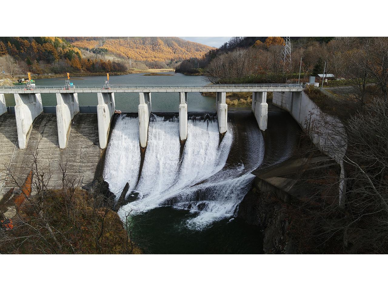 画像:旧北炭清水沢水力発電所(2)