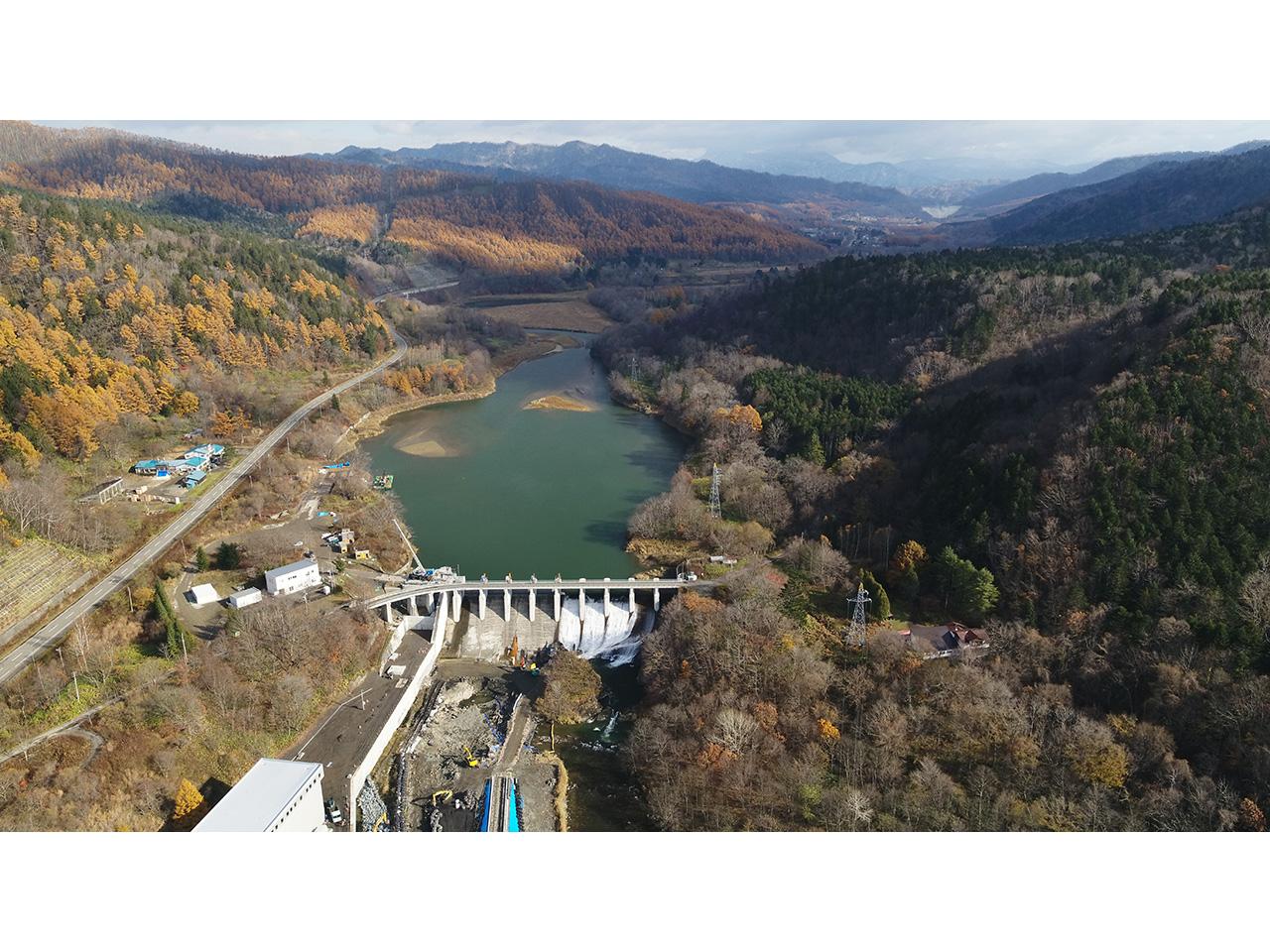 画像:旧北炭清水沢水力発電所(3)