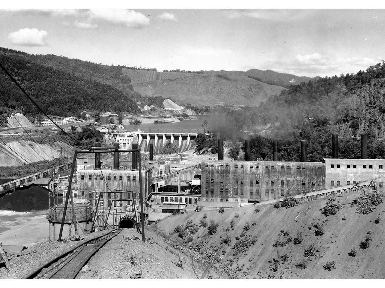 画像:旧北炭清水沢水力発電所(5)