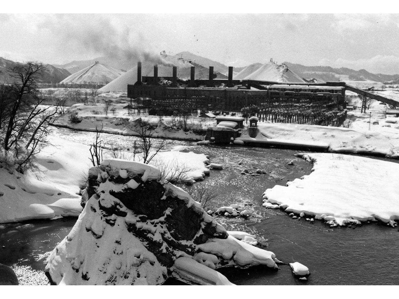 画像:旧北炭清水沢水力発電所(6)