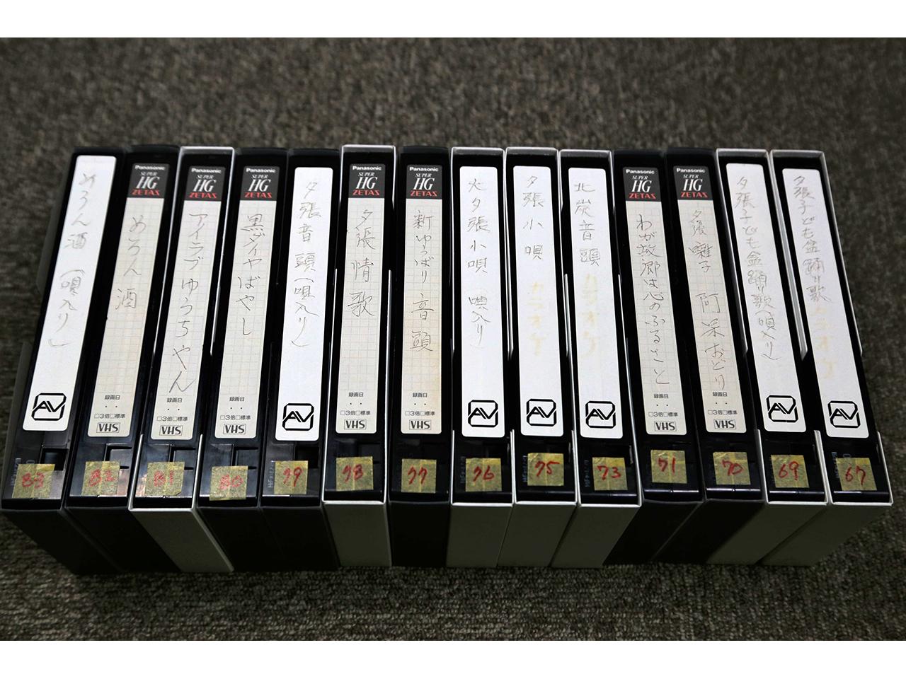 画像:夕張の映像(VHS-2)