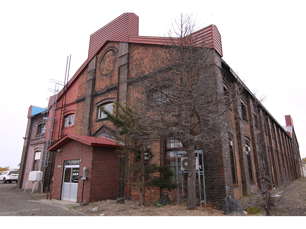 画像:旧北海道炭礦鉄道岩見沢工場(岩見沢レールセンター)(1)