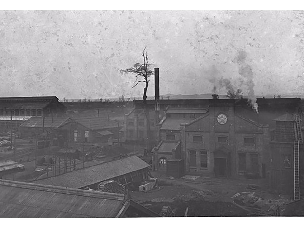 画像:旧北海道炭礦鉄道岩見沢工場(岩見沢レールセンター)(4)