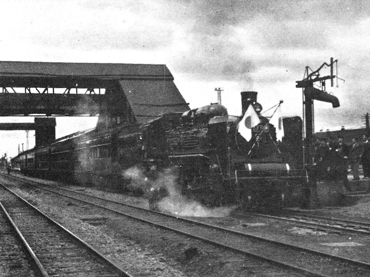 画像:岩見沢の鉄道(1)