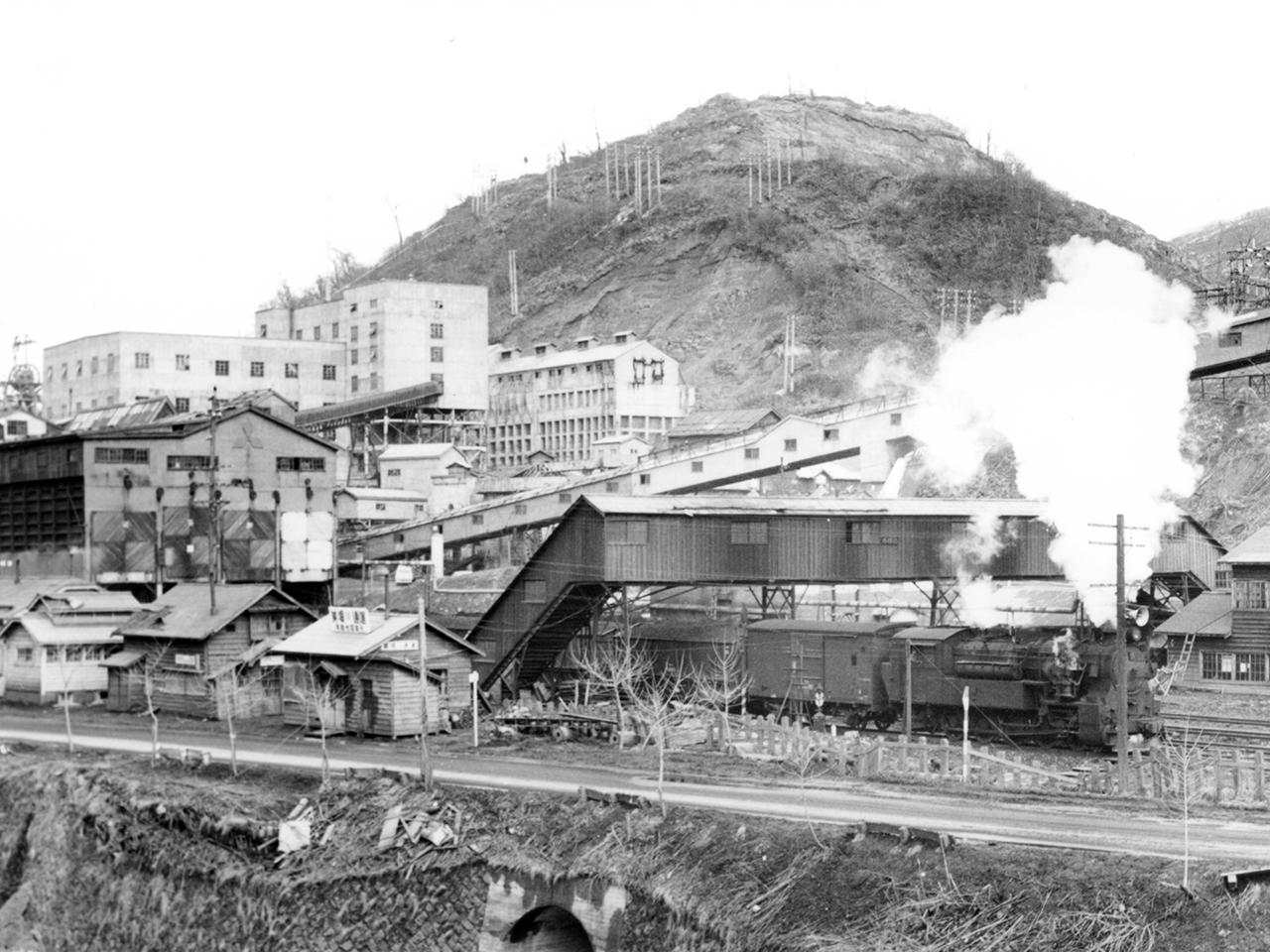 画像:美唄の鉄道