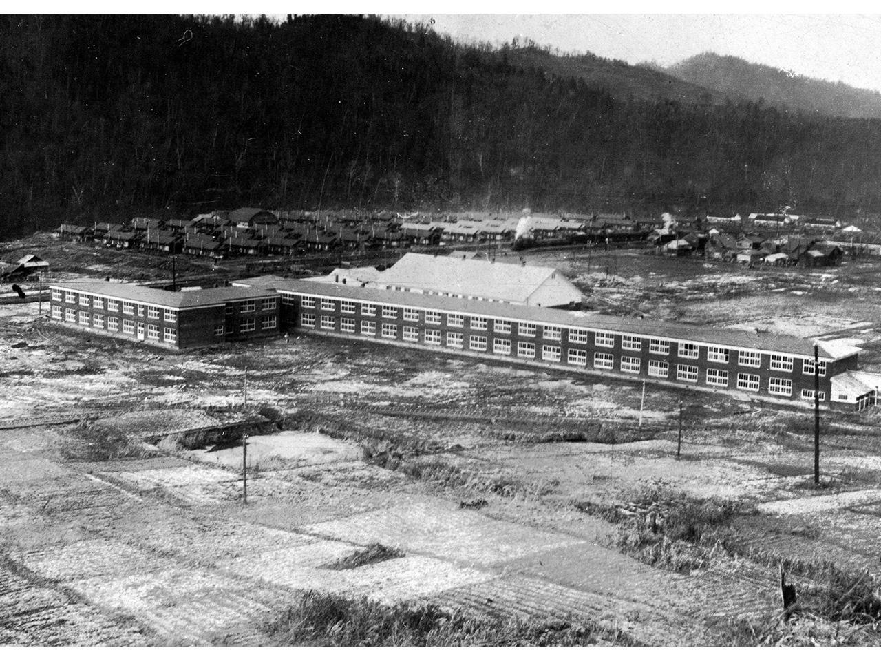 画像:旧頼城小学校(星槎大学)校舎及び体育館(4)