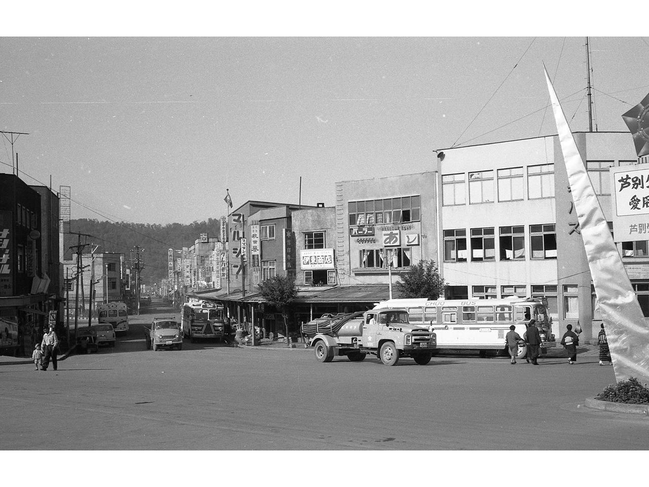 画像:芦別・活気にあふれた商店街(2)