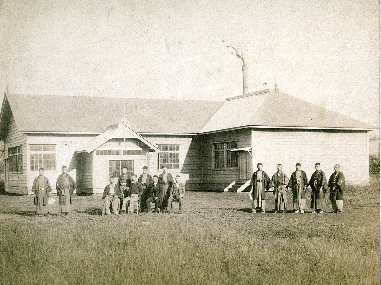 画像:芦別の学校