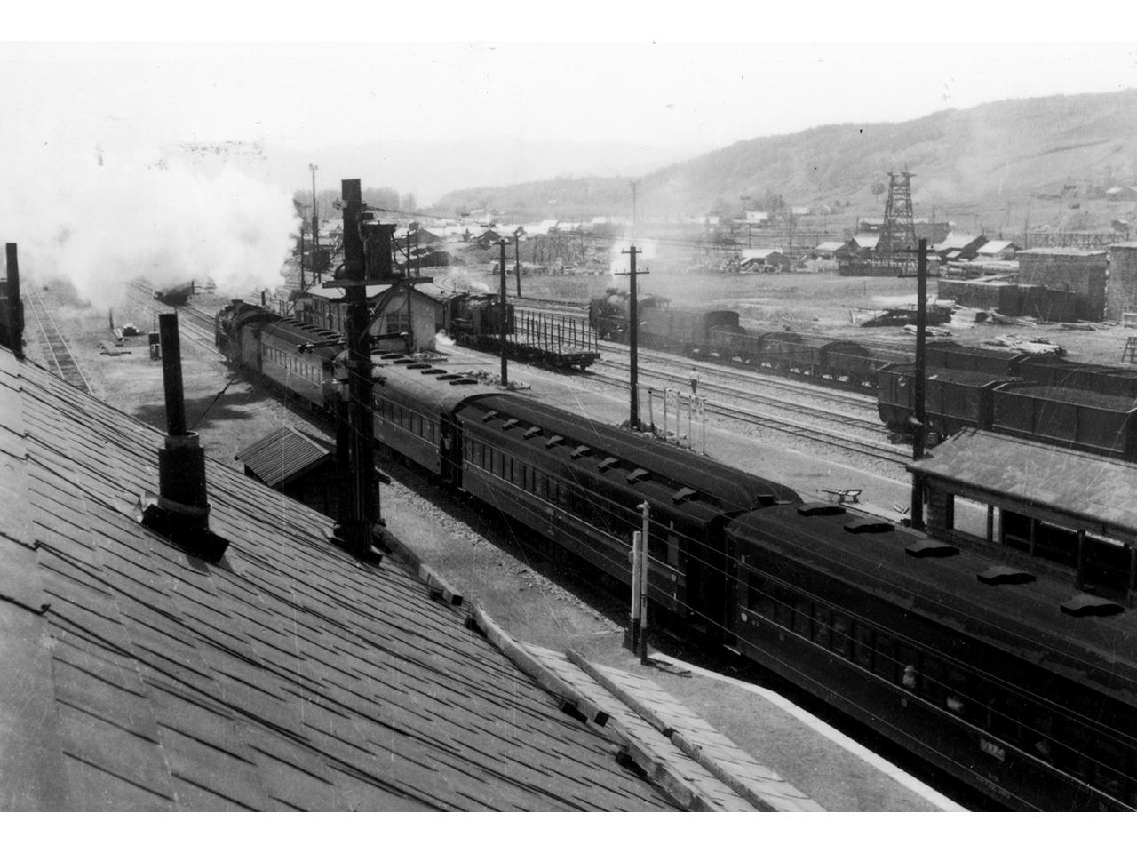画像:芦別の鉄道