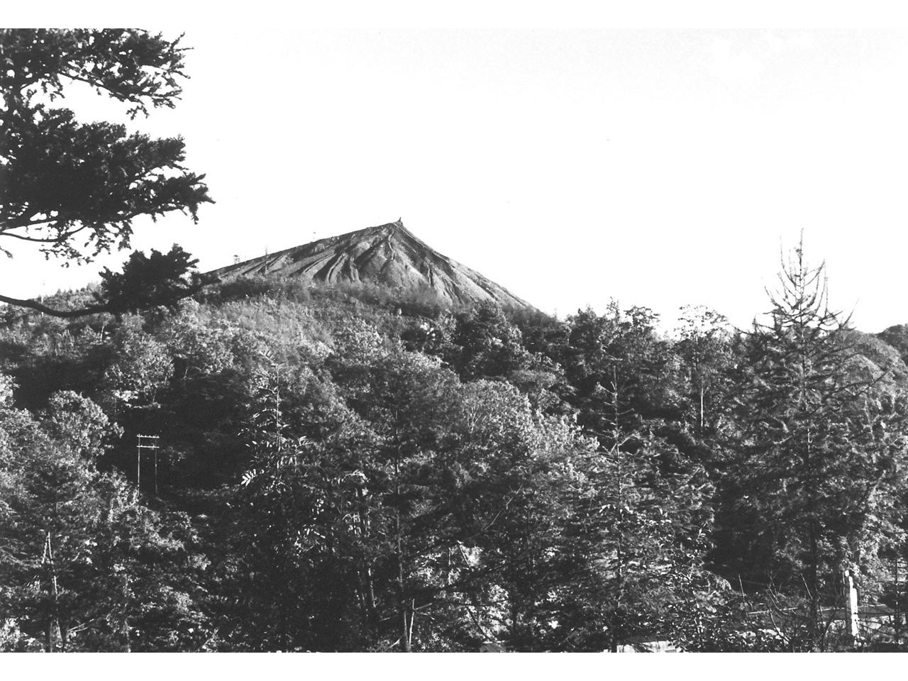 画像:北炭赤間炭鉱ズリ山(4)