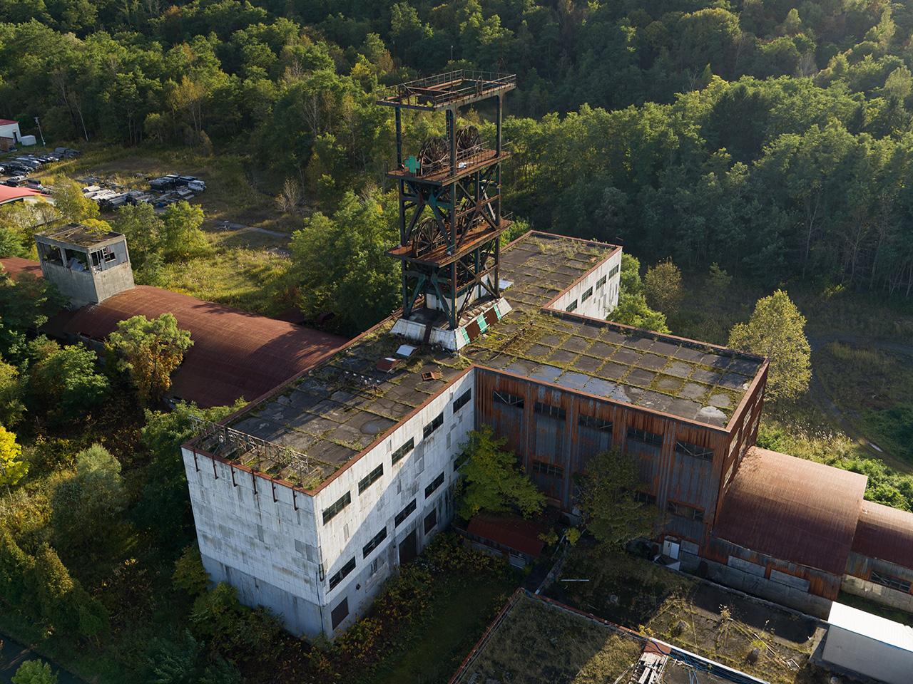 画像:住友赤平炭鉱立坑櫓・周辺施設(2)