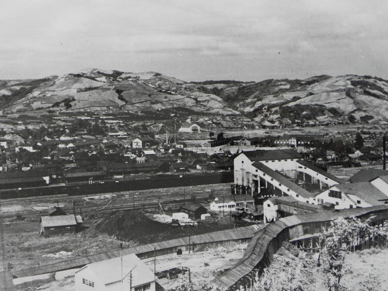 画像:北炭赤間炭鉱