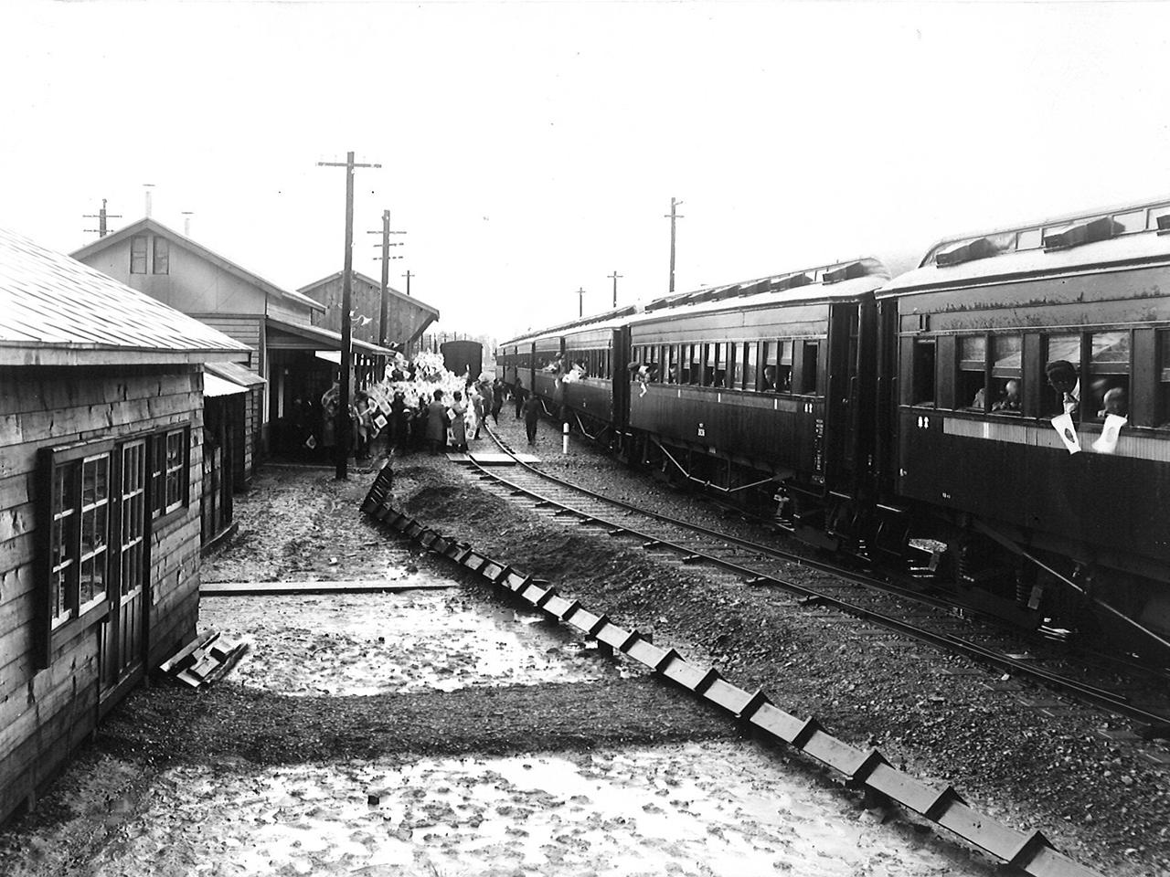 画像:月形の鉄道