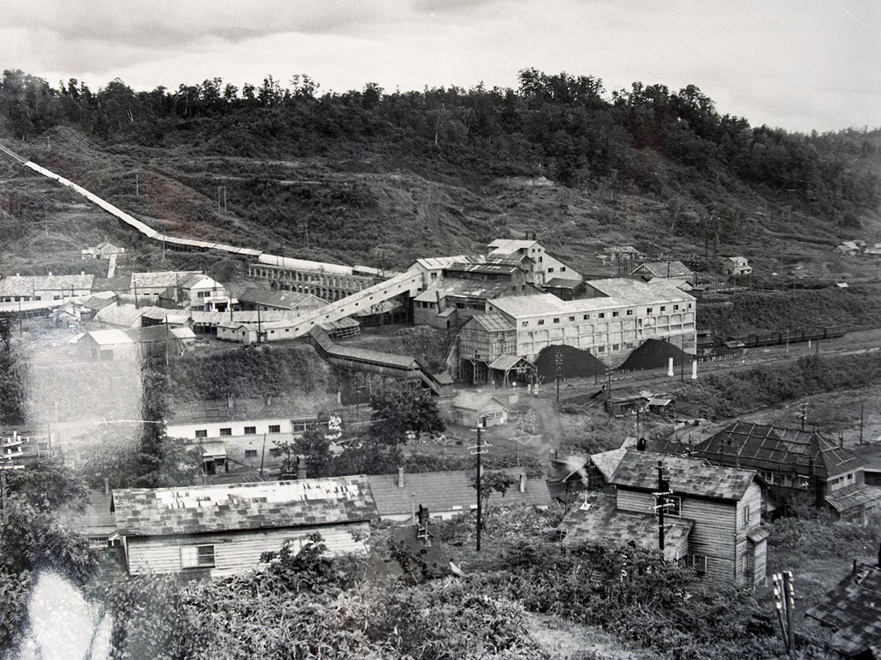 画像:雨竜炭鉱